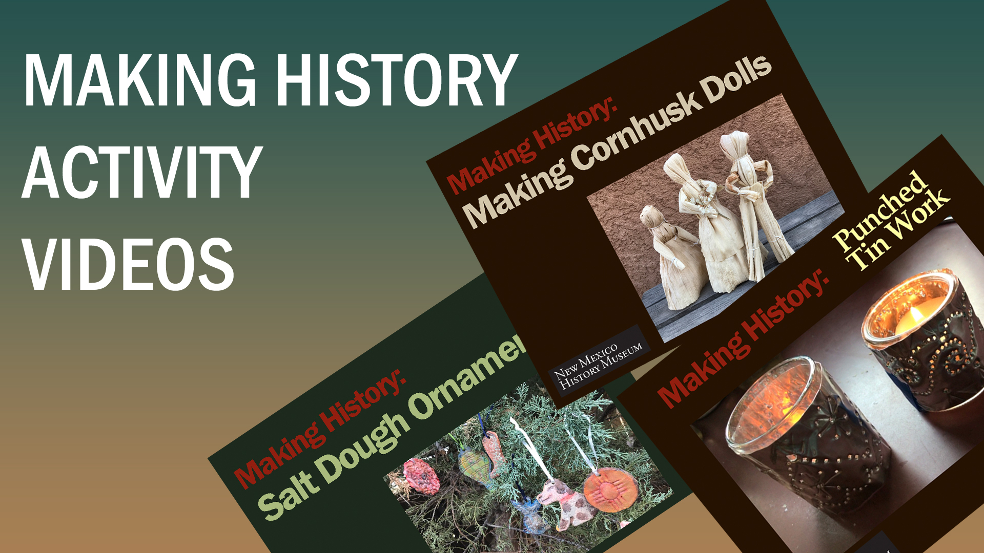 Activity Videos | Making History