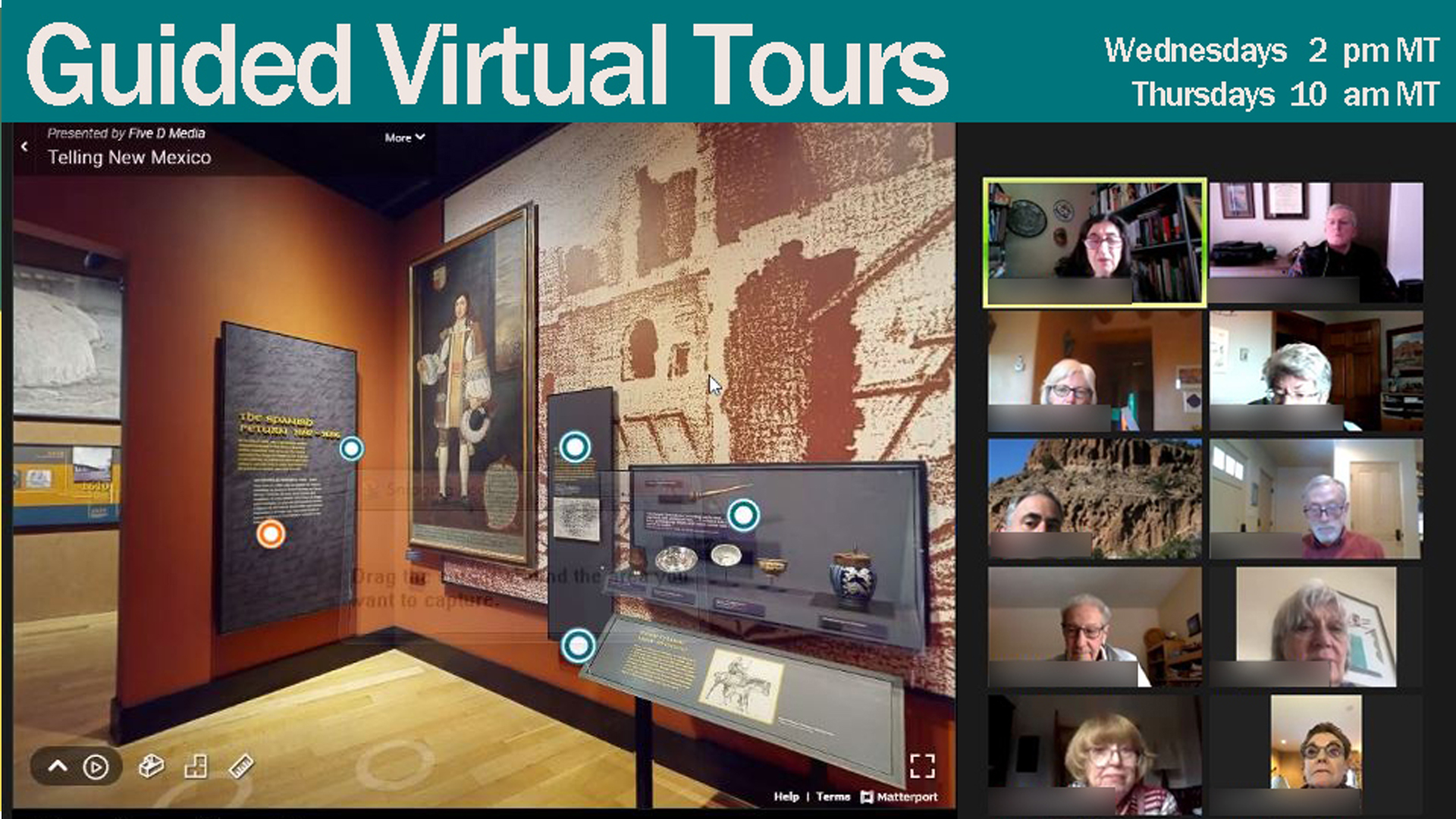 Guided Virtual Tours